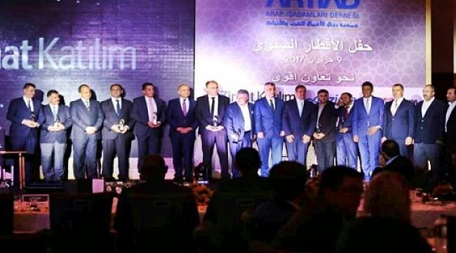 Arap Türk İş adamları Geleneksel Artiad İftarında buluştu