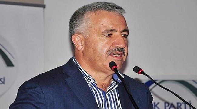 Ulaştırma, Denizcilik ve Haberleşme Bakanı Arslan: Büyüyen Türkiye'yi istemeyenler var
