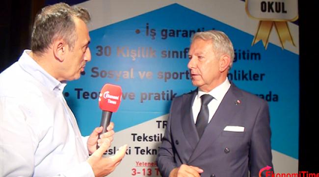 TRİSAD ve Batiad Ortak İftar 2017 Mustafa Balkuv Ekonomi Times Konuşması