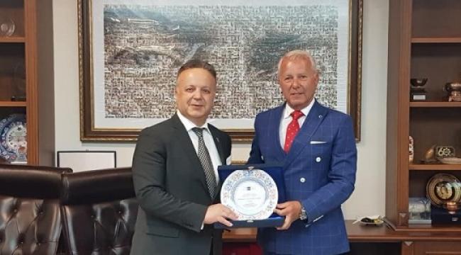 TRİSAD Başkanı Mustafa Balkuv'dan TİM Başkanı Gülle'ye Ziyaret