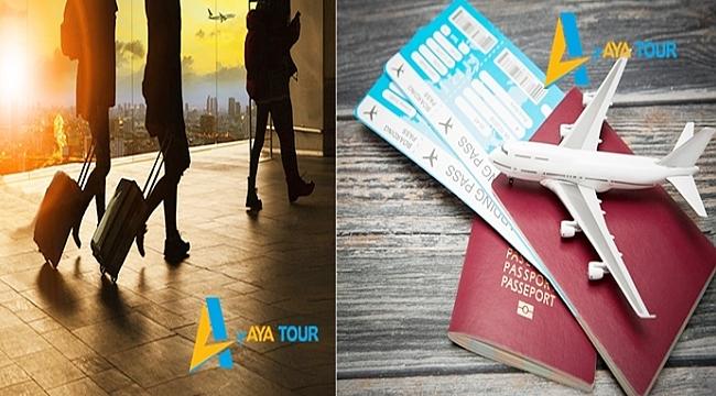 AYA TOUR Uçuş Billet İmkanları Sunuyor